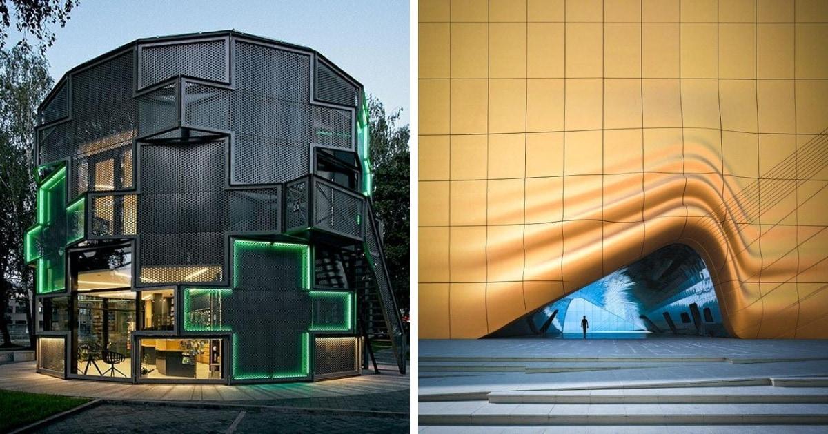 12 удивительных зданий, которые доказывают, что мы уже сейчас живём в фантастическом мире будущего