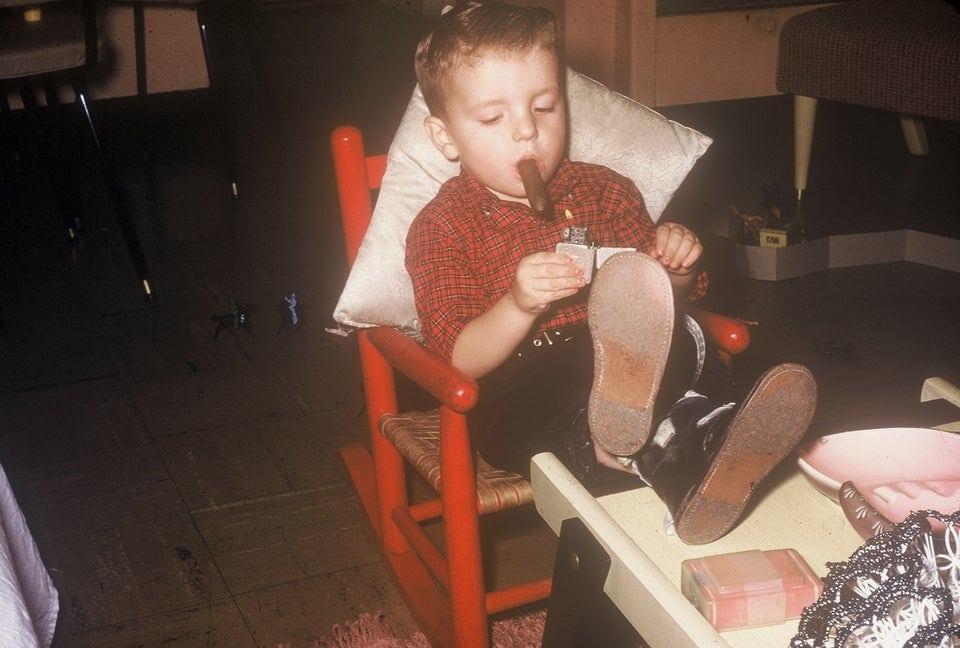 15 детских фотографий из прошлого, которые заставят современных родителей схватиться за сердце