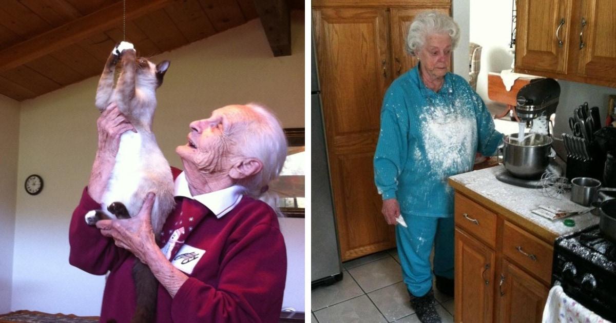 15 случаев, когда бабушки доказывали, что возраст — ещё не повод переставать веселить семью и окружающих
