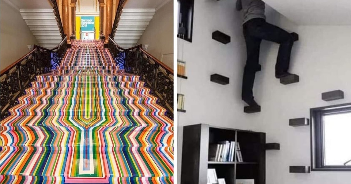 15 примеров провального дизайна лестниц, который в прямом смысле можно назвать убийственным