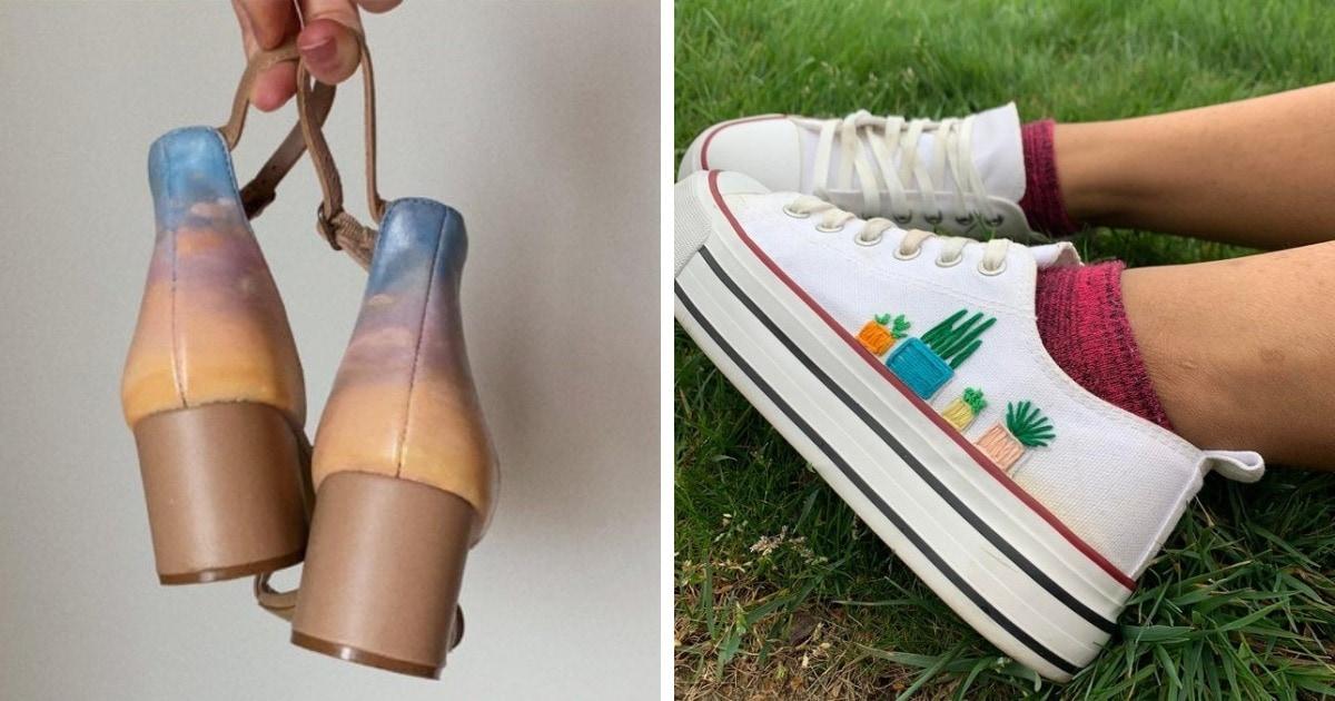 16 умельцев, которые так лихо поколдовали над своей обувью, что теперь в ней так и хочется пройтись по улицам