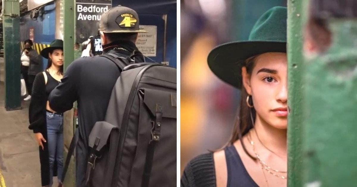 15 работ фотографа, который снимает незнакомцев в метро и сравнивает результат с тем, что творится за кадром