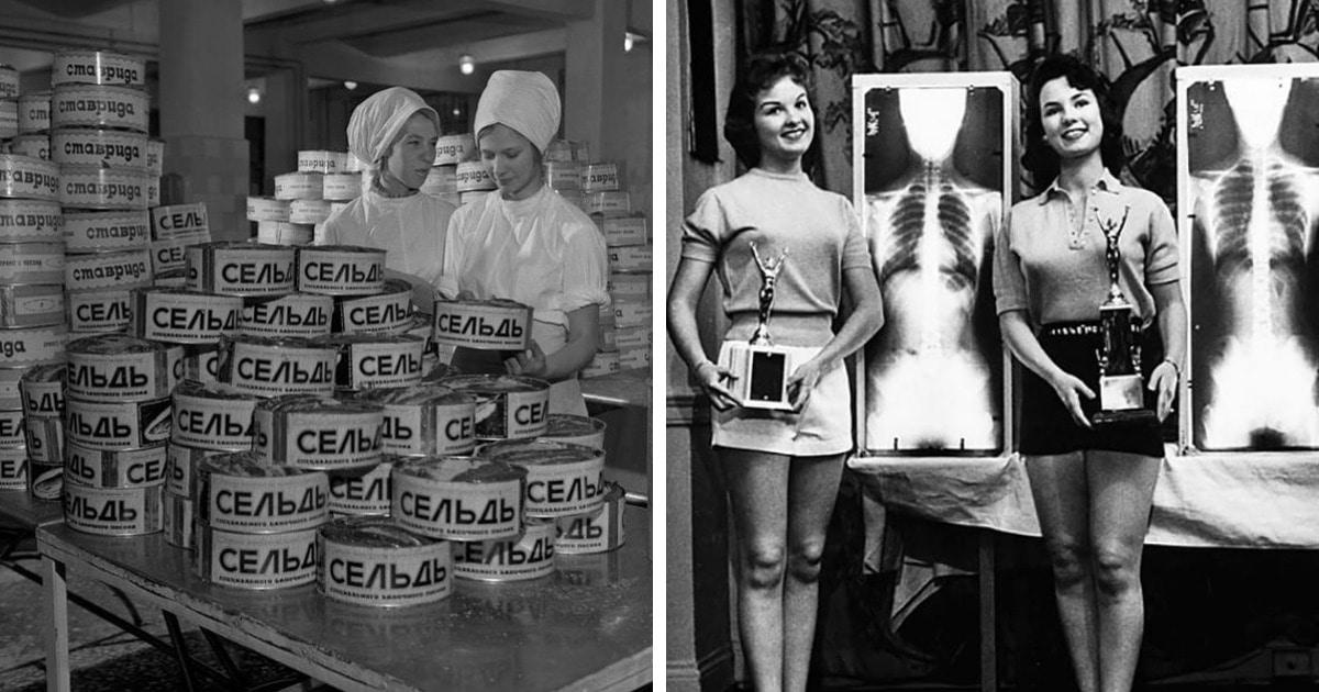 15 странных и забавных ретроснимков, которые показывают, насколько другим был мир в прошлом веке