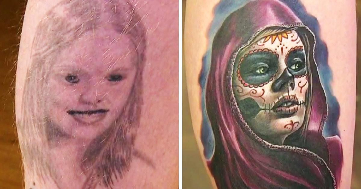 19 случаев, когда мастера сделали на месте старых татуировок новые, доказав, что плохое тату — это не навсегда