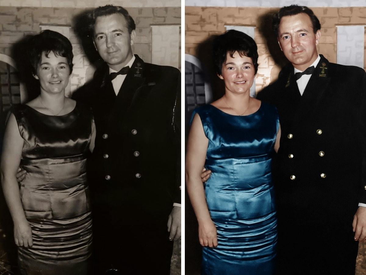 17 человек, которые попросили раскрасить их семейные фотографии, и результаты тронули их до слёз