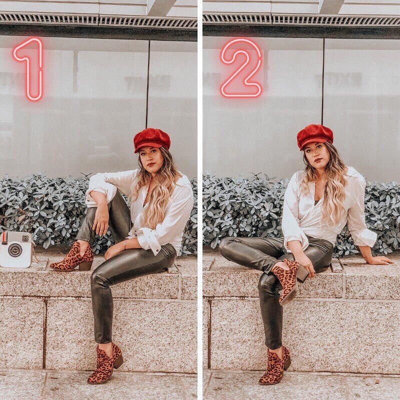 15 наглядных примеров правильного позирования от блогера, которая знает, как сделать любой снимок удачным