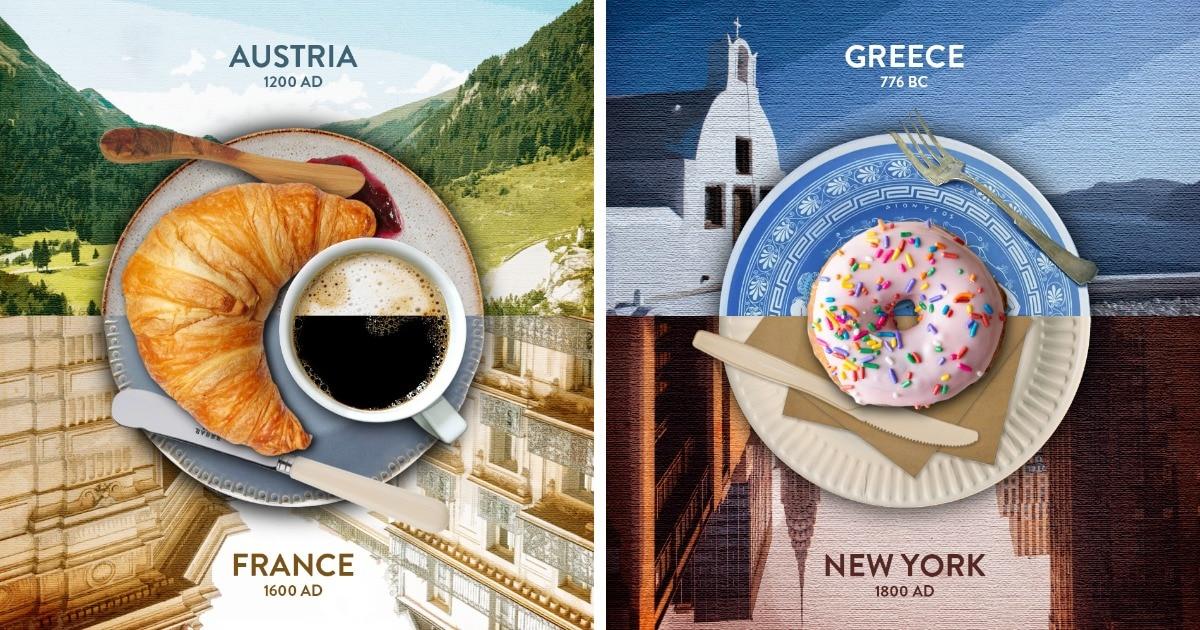 Британская компания показала, откуда на самом деле родом блюда, которые считают символами совсем других стран