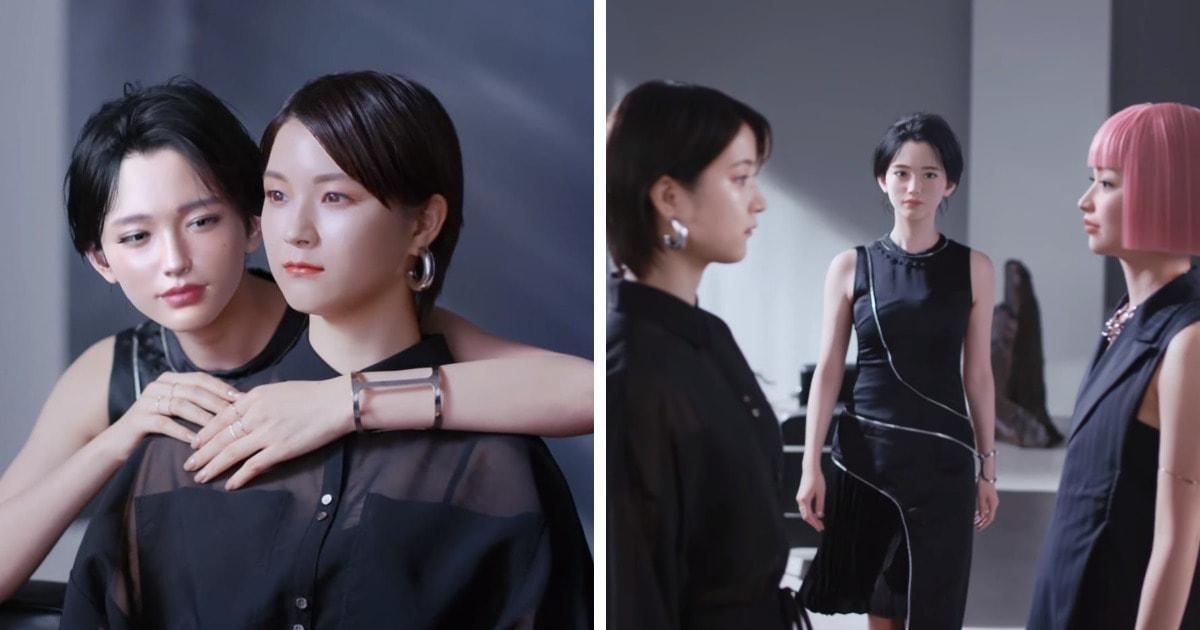 3 модели снялись в рекламе, но человек из них только одна. Найти её среди виртуальных девушек — та ещё задачка