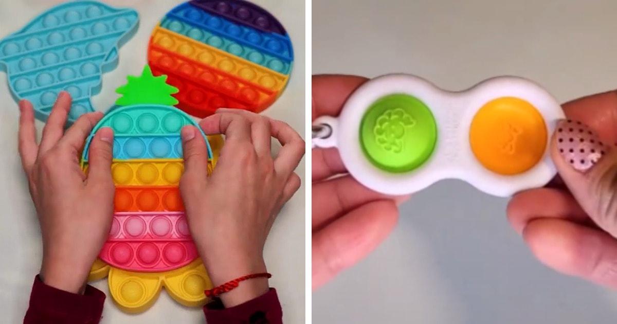 Поп-ит или симпл-димпл: что это за новые игрушки, которые взрывают соцсети и мозги взрослого поколения