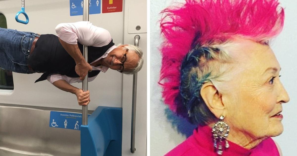19 фотографий пожилых людей, которые доказывают, что можно сохранять молодость и задор в любом возрасте