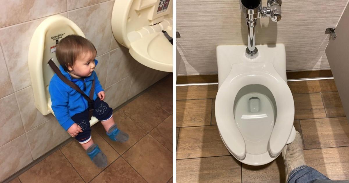 15 идей, которые делают общественные туалеты местом, где не только чисто и аккуратно, но и очень удобно