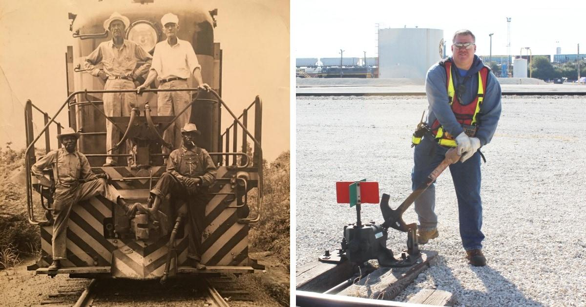 Как выглядели представители разных профессий около 100 лет назад по сравнению со своими современными коллегами