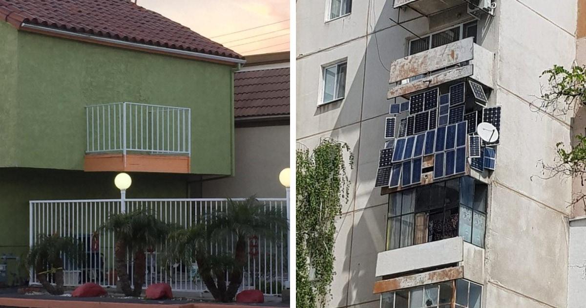 16 фотографий балконов, которые настолько странные, что это даже круто