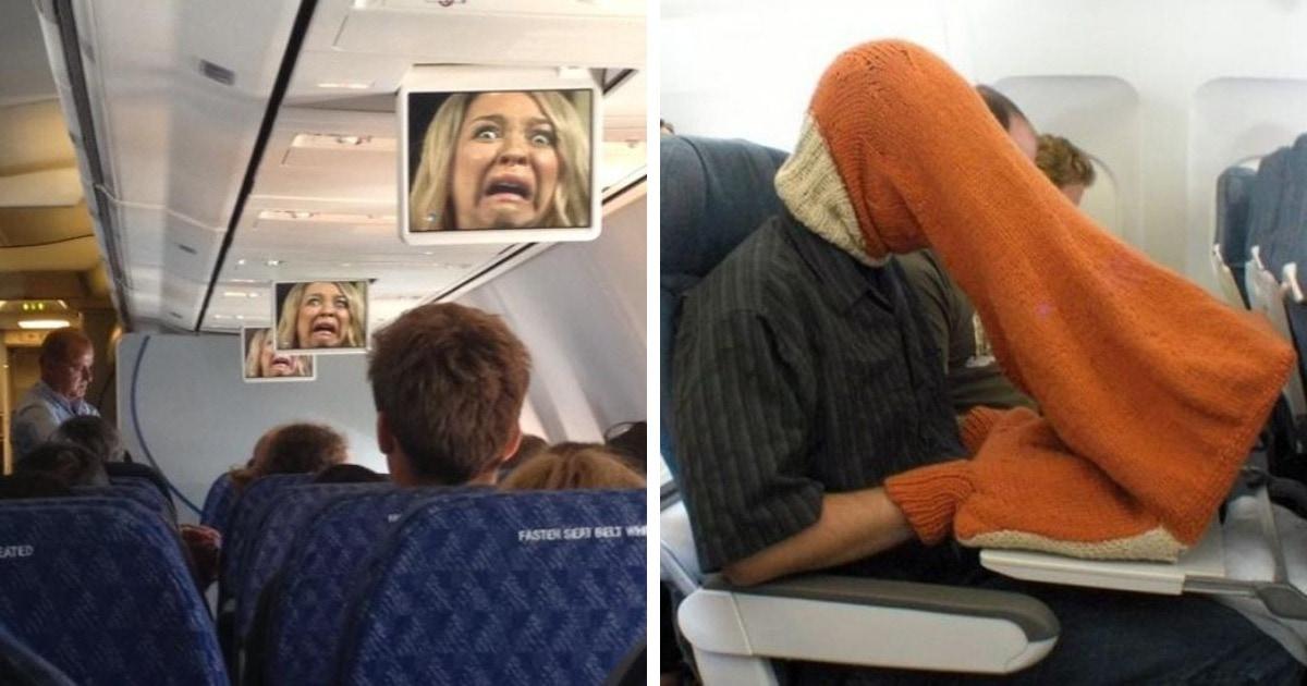 16 случаев того, как самые странные, яркие и весёлые впечатления путешественник получил уже на борту самолёта
