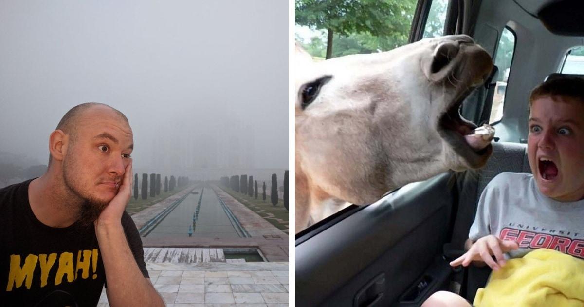 15 фото, которые показывают, что в отпуске всё может пойти не так, но к этому легко отнестись с юмором