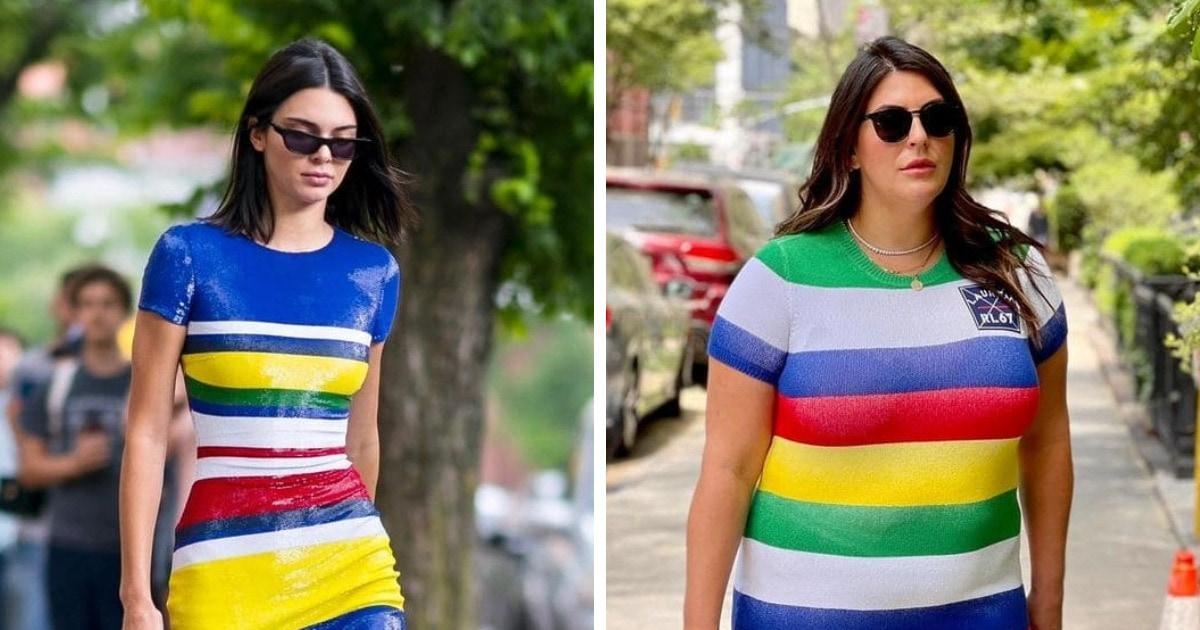 18 образов от американки плюс-сайз, которая копирует наряды звёзд и показывает, что у стиля нет размеров