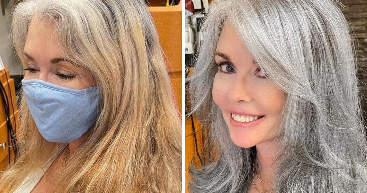15 работ парикмахера, который превращает седину клиенток в повод для гордости, прятать который — преступление
