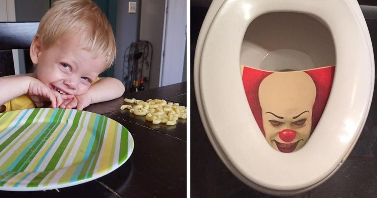 15 забавных фото о том, что внезапный детский юмор может удивить и развеселить в любой момент