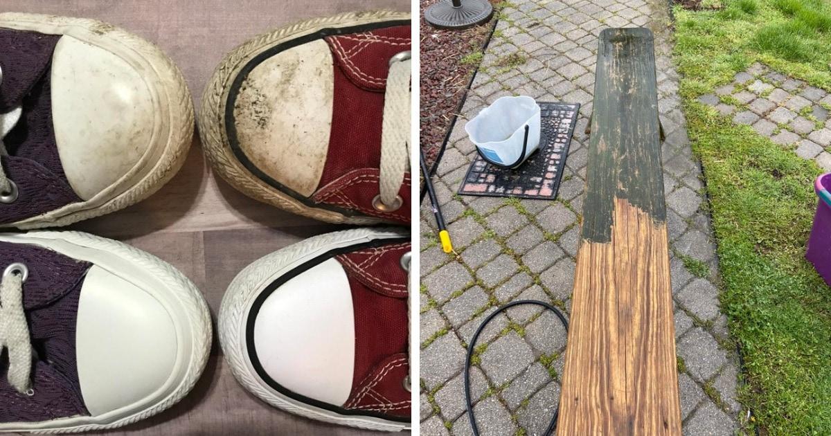 16 фото о том, что иногда можно не покупать новые вещи, а просто хорошенько почистить старые