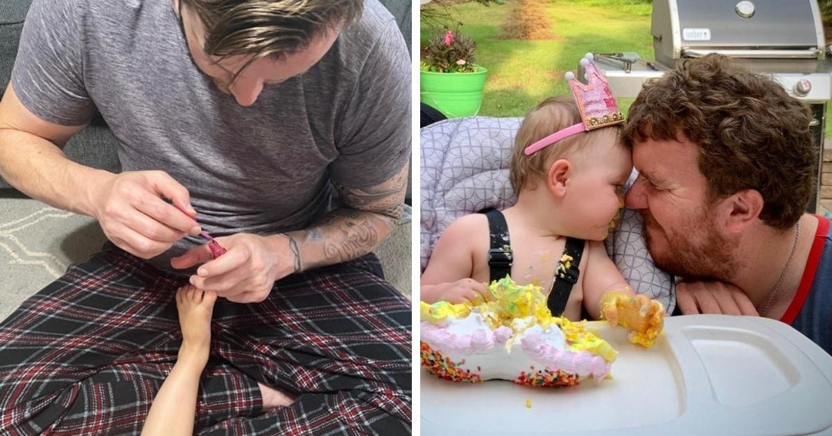 16 милых семейных кадров, которые ярко показывают всю силу и трогательность отцовской любви