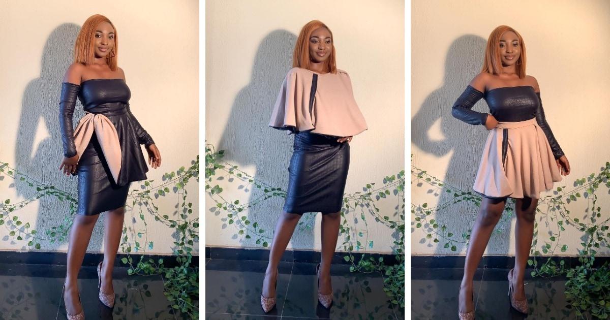Девушка из Нигерии шьёт платья-трансформеры, которые можно изменять на любой случай жизни