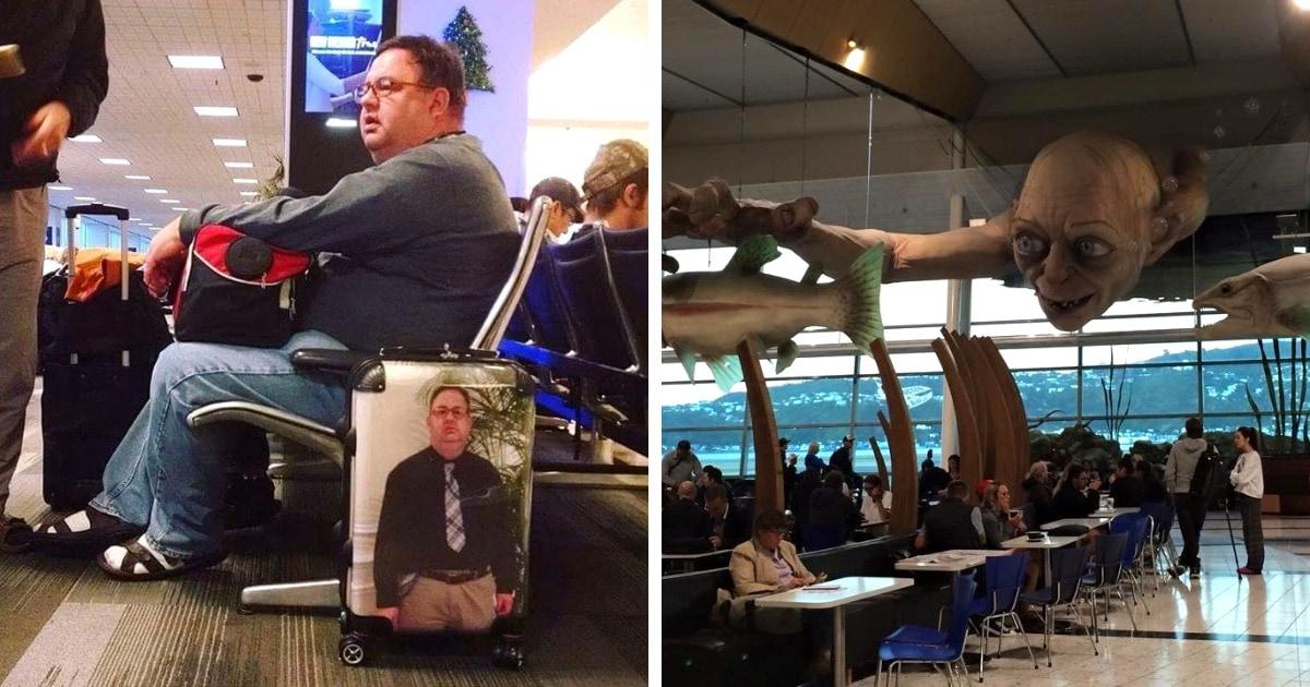 19 случаев, когда в аэропортах и самолётах людей ждали интересности покруче чем в местах, куда они летели