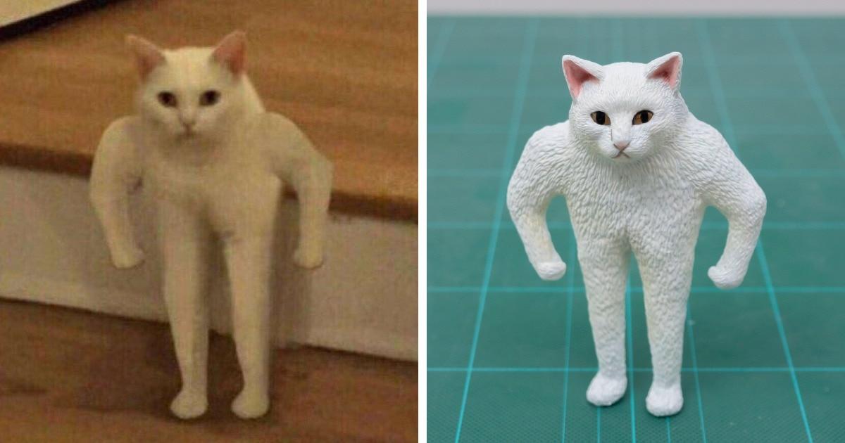 Японец создаёт фигурки по мотивам мемных фотографий животных, и его работы оказываются ещё смешнее оригиналов