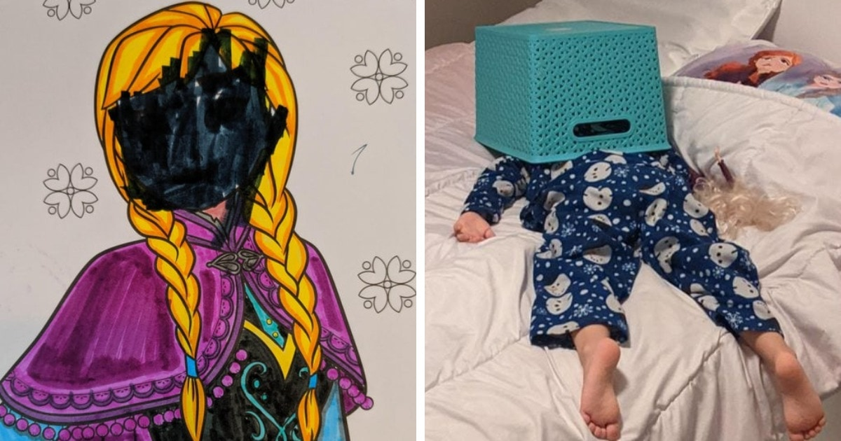 16 фото из жизни родителей, которые ярко показывают, что у ребёнка всегда найдётся, чем вас удивить