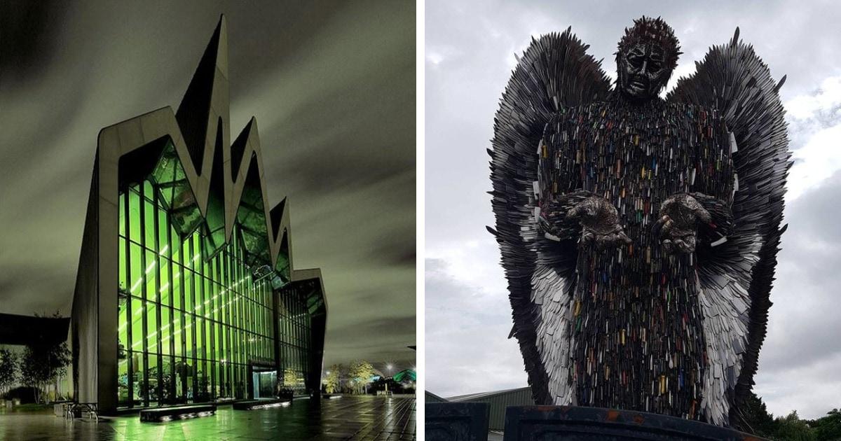 15 завораживающих фотографий масштабных зданий, которые выглядят так, будто там поселилось само зло