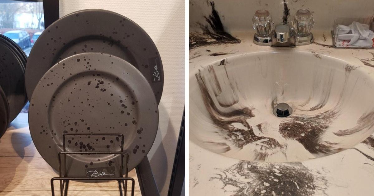 16 случаев, когда предметы выглядели очень грязными, а всё из-за неудачного и плохо продуманного дизайна