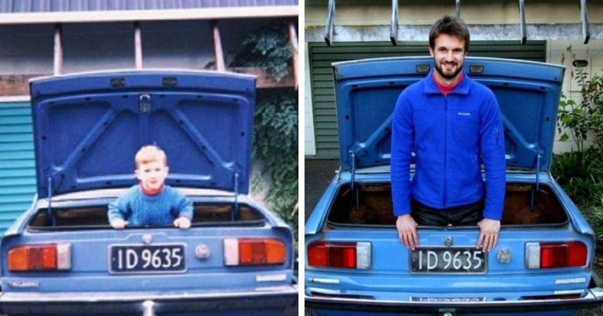 15 фото, которые показывают, что несмотря на ход времени некоторые вещи не меняются с годами