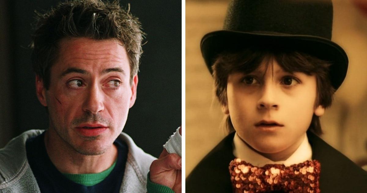 12 случаев, когда актёры и их собственные дети изображали одних и тех же персонажей в разном возрасте