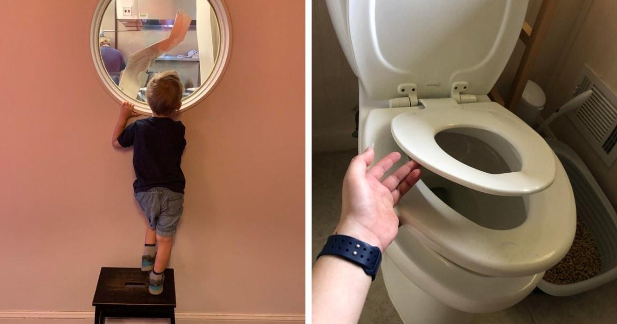 18 случаев, когда в общественных местах появились крутые штуки, которые сделали жизнь детей интереснее и удобнее