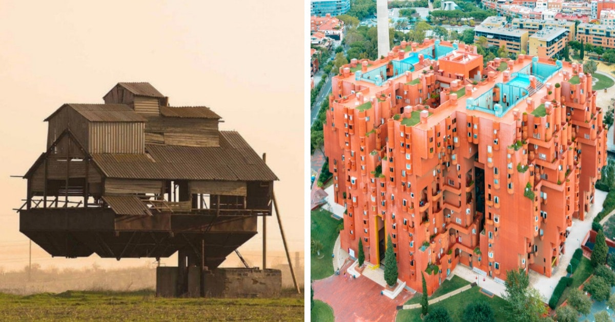 16 оригинальных, но странноватых строений, глядя на которые хочется задать вопрос «что вообще проиcходит?»