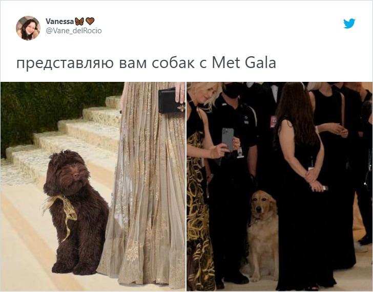 Кардашьян-дементор: в Нью-Йорке прошёл бал Met Gala, и зрители не могли не пошутить о нарядах звёзд