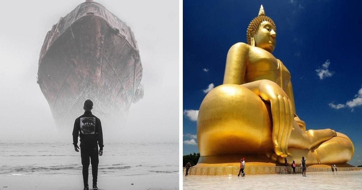 17 фотографий вещей, которые настолько огромны, что от их масштаба становится тревожно