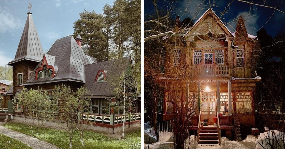 17 работ российского фотографа, снимающего старые дачи, которые будто бы сбежали со страниц сказок