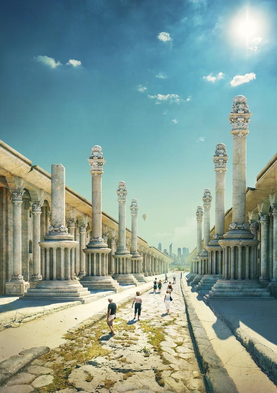 Как выглядели бы древнейшие сооружения прошлого, сохранись они до 21 века в первозданном виде