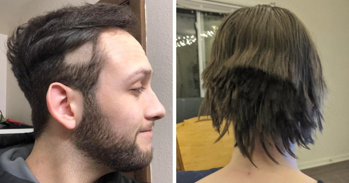 17 неловких ситуаций, когда желание сделать стрижку обернулось полным парикмахерским провалом