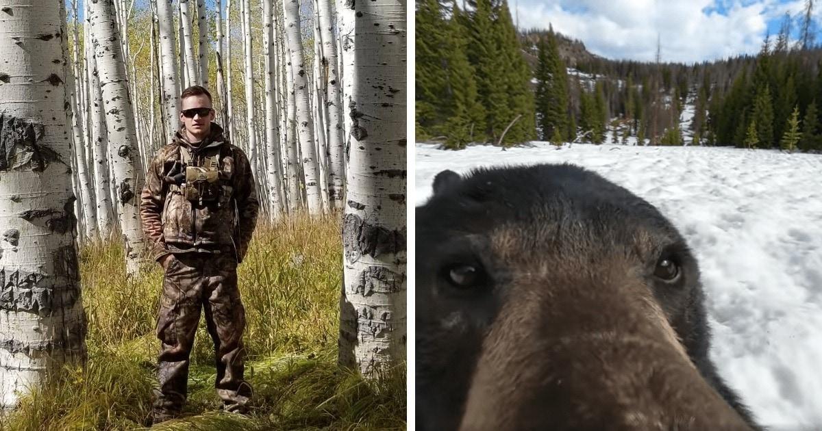 Парень нашёл в лесу потерянную камеру и показал кадры оттуда. Оказалось, что он не первый, кто её обнаружил